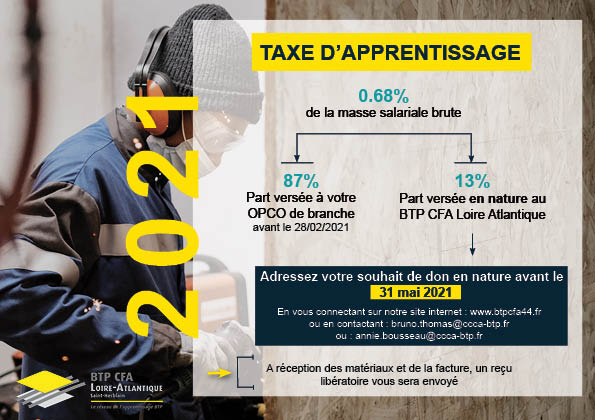 Flyer taxe apprentissage L.A