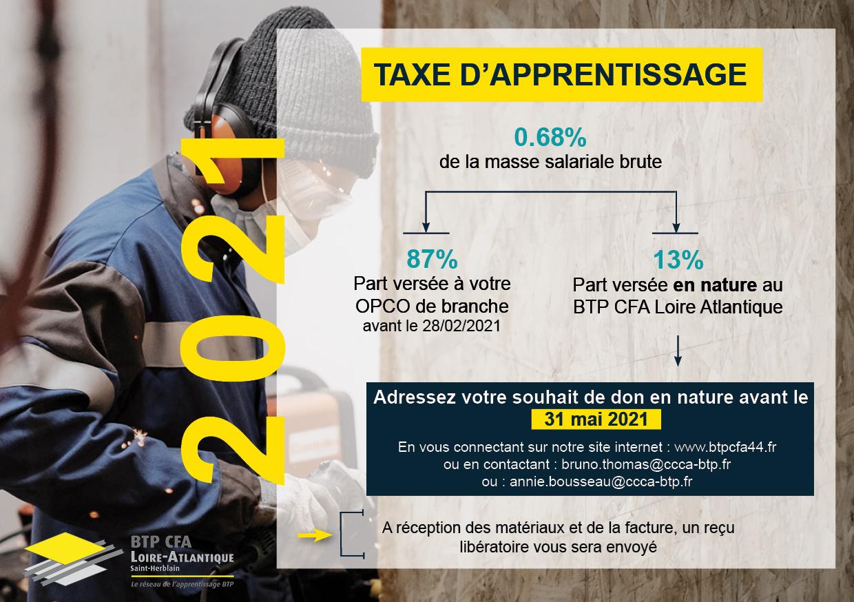 Flyer taxe apprentissage L