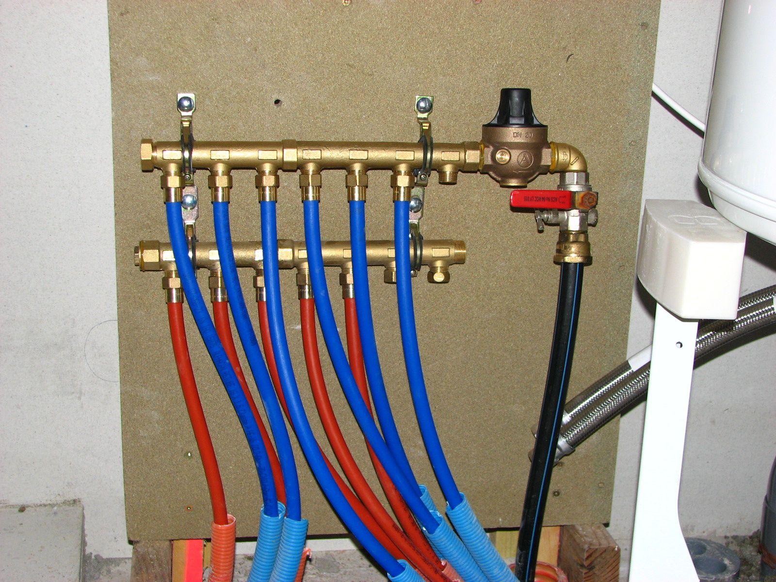 FC Réalisation d'une alimentation en eau chaude et eau froide